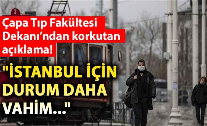 Çapa Tıp Fakültesi Dekanı Tufan Tükek'ten korkutan açıklama!