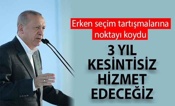 Cumhurbaşkanı Erdoğan Ankara-Niğde Otoyolu'nu açtı