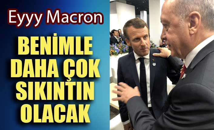 Cumhurbaşkanı Erdoğan Macron'a seslendi