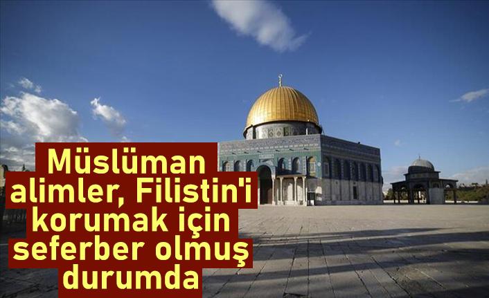 Dünya Müslüman Alimler Birliği Başkanı Raysuni: Müslüman alimler, Filistin'i korumak için seferber olmuş durumda