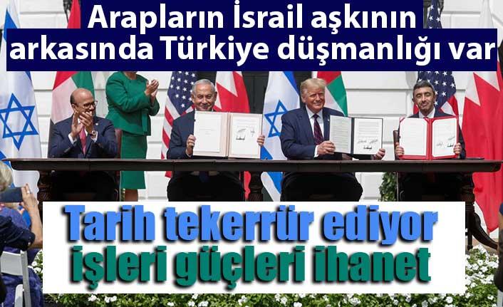 İsrail ile BAE ve Bahreyn anlaşmasının ikinci hedefi Türkiye