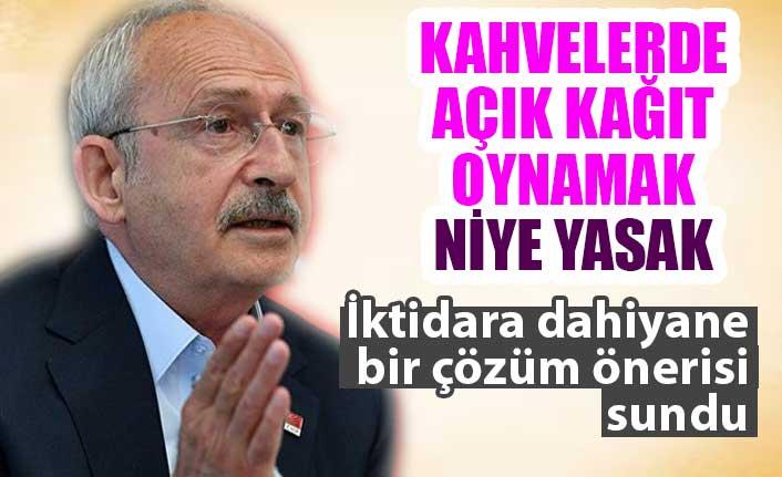 Kemal Kılıçdaroğlu'ndan kahvehane önerisi: Her oyunda ...