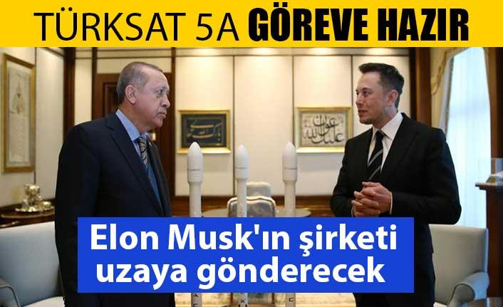 Türksat 5A haberleşme uydusu 30 Kasım'da uzaya fırlatılacak