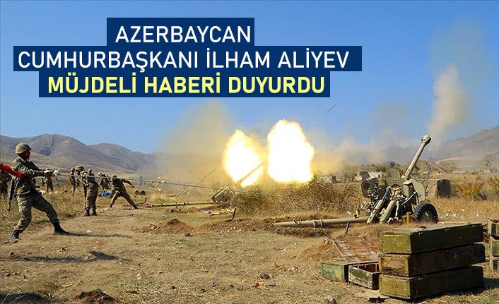Azerbaycan ordusu 21 köy ve 1 kasabayı işgalden kurtardı