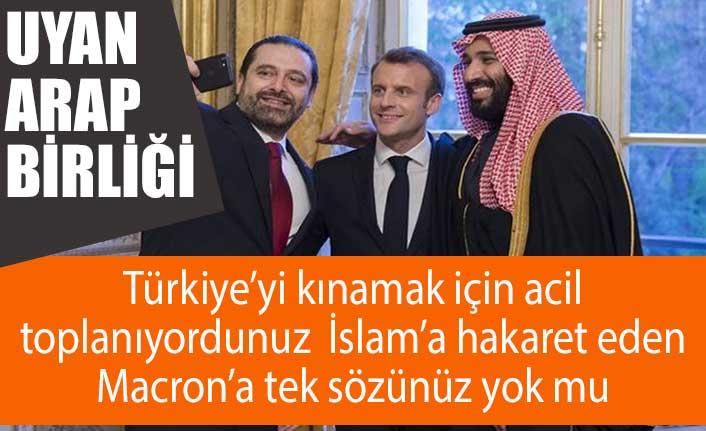 İslam'ı hedef alan Macron'a Arap Birliği sessiz kaldı