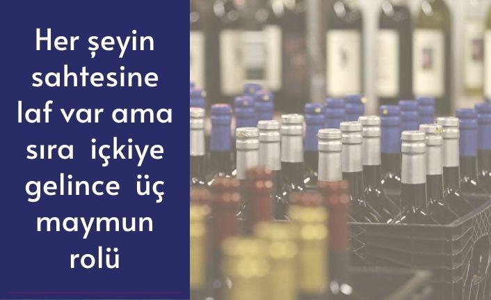 İzmir polisi, 7 ton sahte içki ele geçirdi