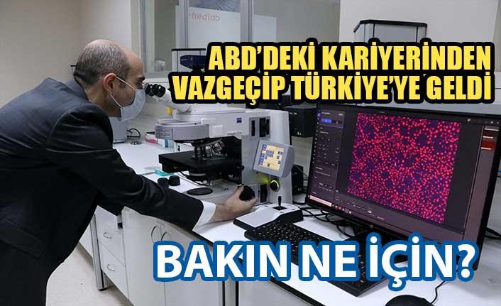 ABD kariyerinden vazgeçen Türk doktor, Türkiye'de nanoteknoloji üretecek