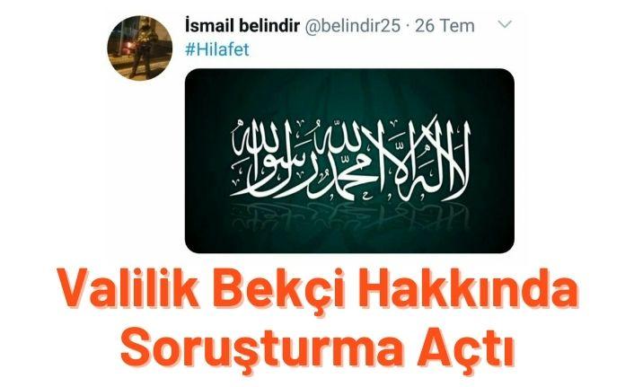 Bursa'da bekçiye Kelime-i Tevhid soruşturması