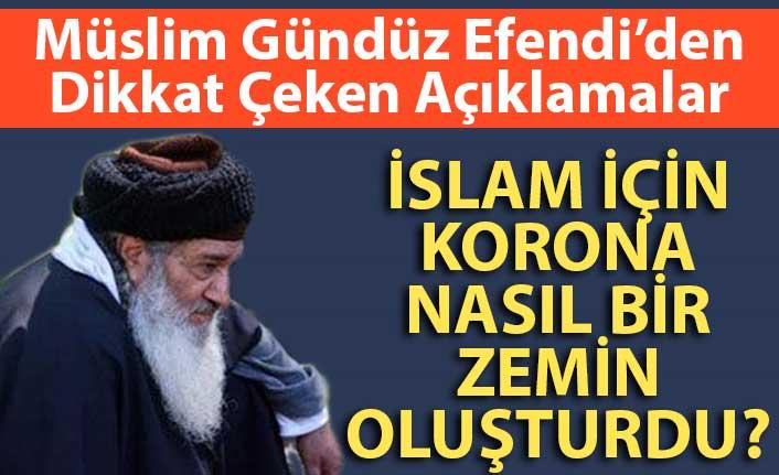 Corona virüsten dolayı Erdoğan'ın karşı inkılap yapma vasatı oluştu