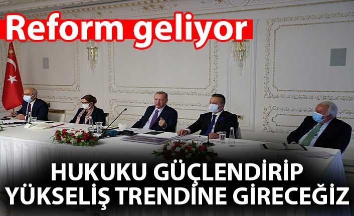 Cumhurbaşkanı Erdoğan, TİM heyetini kabul etti