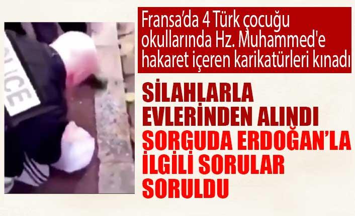 Fransa'da 4 Türk çocuğu 11 saat boyunca sorgulandı