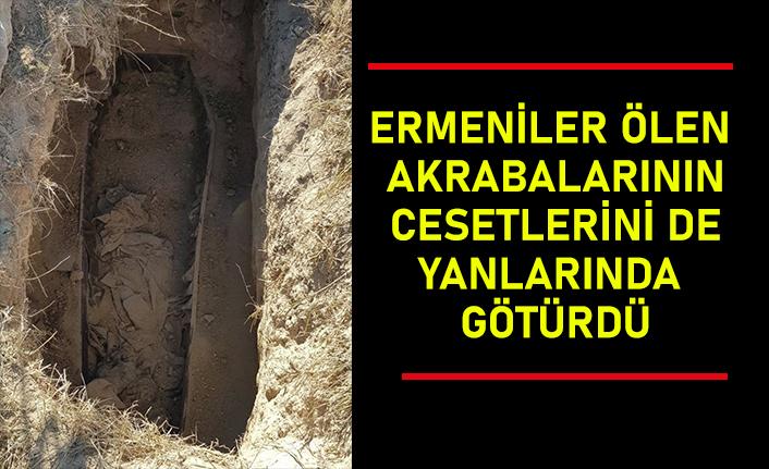 Kelbecer'i terk eden Ermeniler ölen akrabalarının cesetlerini de yanlarında götürdü