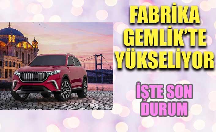 Türkiye'nin Otomobili'nin üretim tesisinde çalışmalar sürüyor