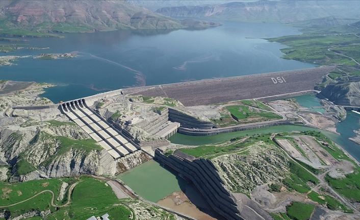 Bakan Pakdemirli: Ilısu Barajı tam kapasiteyle elektrik üretimine başladı