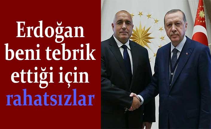 Boyko Borisov: Erdoğan beni tebrik ettiği için rahatsızlar