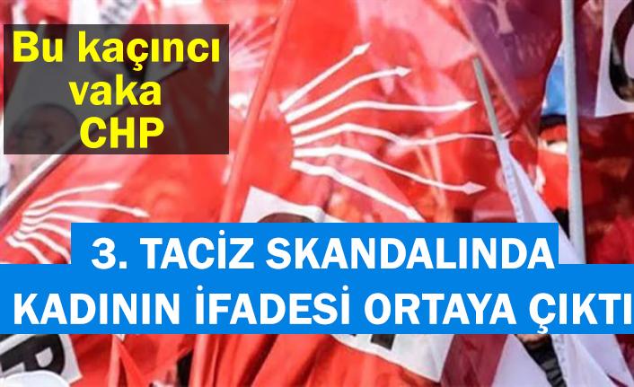 CHP Ümraniye Gençlik Kolları eski başkanına taciz iddiası... Kadının ifadesi ortaya çıktı