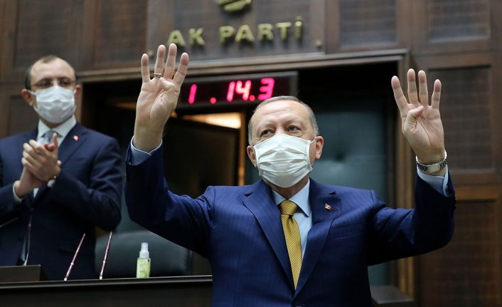 Erdoğan: İdeolojik, turistik, ticari hesaplarla dini sembollerimize sataşılmasını art niyetli buluyoruz
