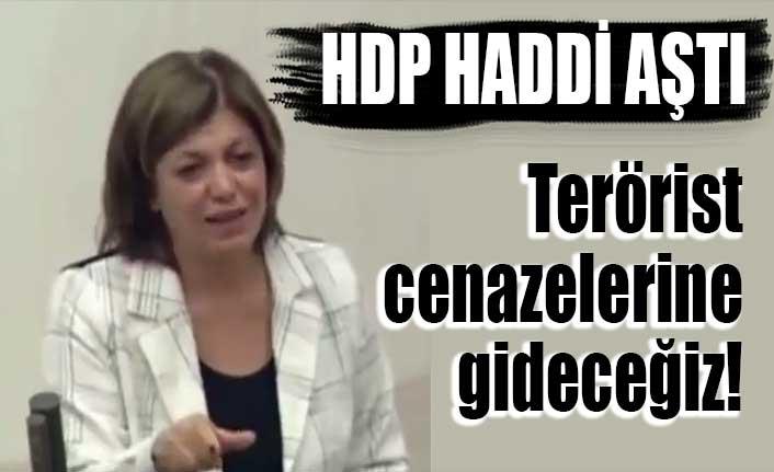 HDP haddi aştı: Terörist cenazelerine gideceğiz!