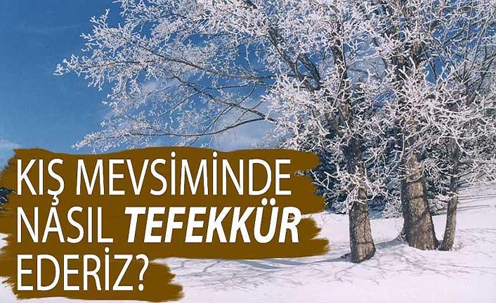 Kış mevsiminde nasıl tefekkür ederiz?