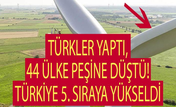 Türkler yaptı, 44 ülke peşine düştü! Türkiye 5. sıraya yükseldi