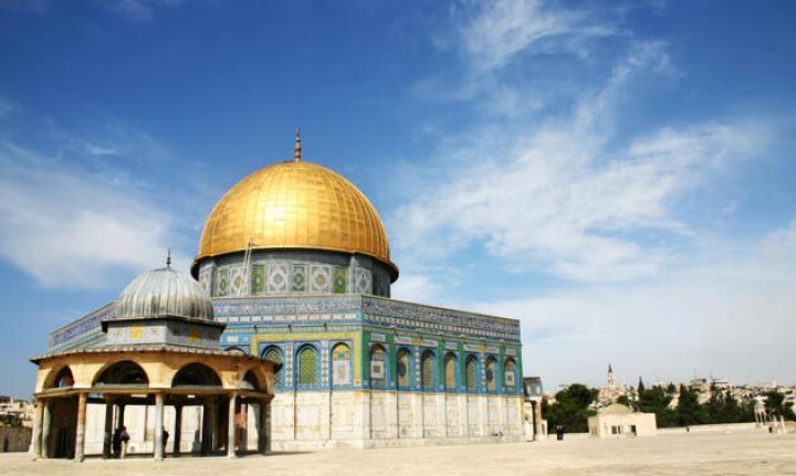 Ürdünlü pilot: Filistin'in ebedi başkenti Kudüs şehrinin üzerinden geçiyoruz.