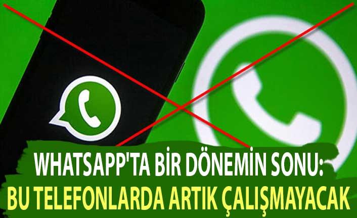 WhatsApp'ta bir dönemin sonu: Bu telefonlarda artık çalışmayacak