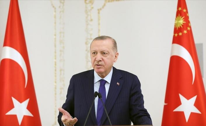 Cumhurbaşkanı Erdoğan: Salgın çeşitli sıkıntılar getirse de iş dünyamızın önünde yeni fırsat pencereleri de açıyor