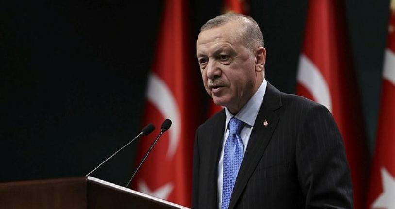 Cumhurbaşkanı Erdoğan: Üç yenilikçi aşı adayımız faz çalışmalarına başlama arifesinde