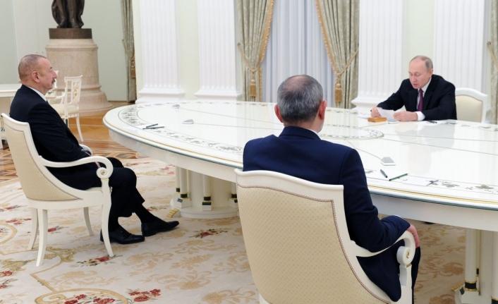 Moskova'da üçlü Karabağ görüşmesi başladı