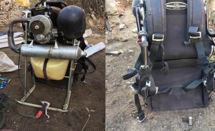 Paramotorla PKK'ya bomba taşıyan terörist havada vuruldu