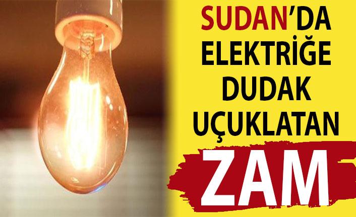 Sudan'da elektriğe dudak uçuklatan zam