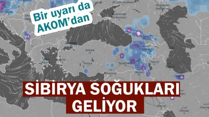 AKOM'dan İstanbullulara kar uyarısı