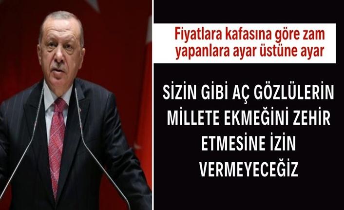 Cumhurbaşkanı Erdoğan'dan gıda fiyatlarındaki artışa yönelik açıklama