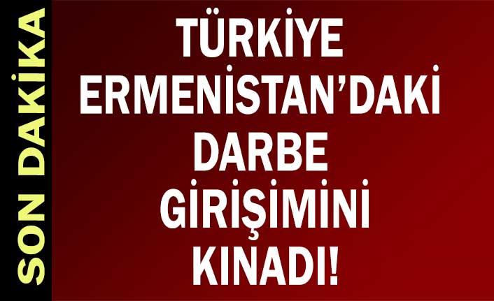 Dışişleri Bakanı Mevlüt Çavuşoğlu: Ermenistan'daki darbe çağrısını kınıyoruz