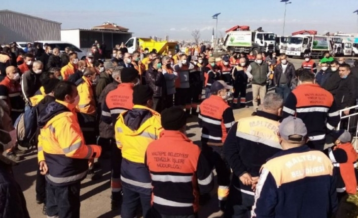 Maltepe Belediyesi'nde 1500 işçiden grev kararı