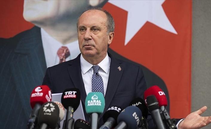 Muharrem İnce, CHP üyeliğinden istifa edeceğini açıkladı