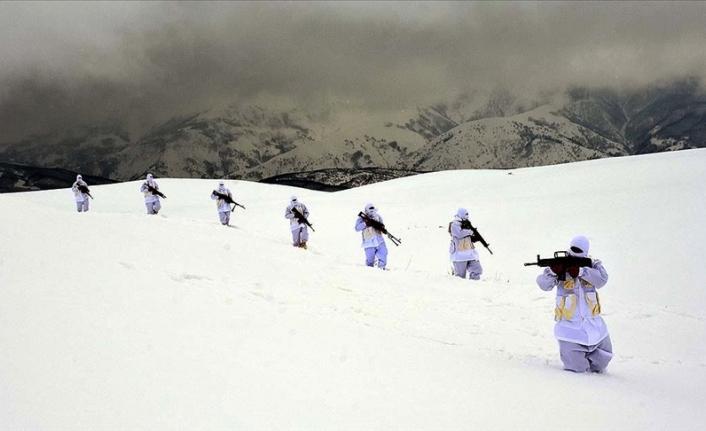 Muş'ta jandarma ekipleri, teröristlere dondurucu soğukta da göz açtırmıyor