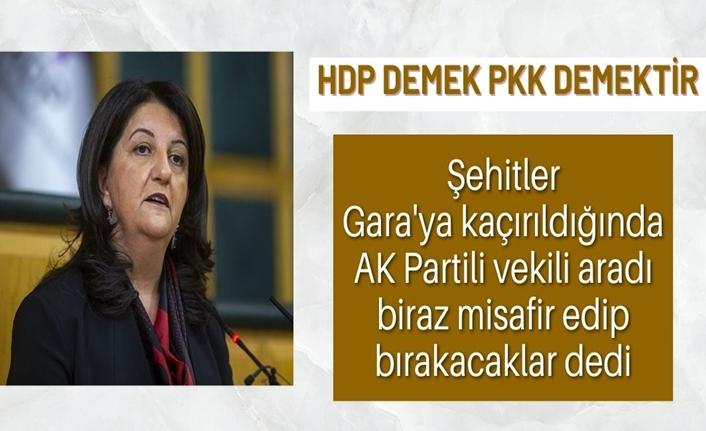 Süleyman Soylu: Pervin Buldan, biraz misafir edip bırakacaklar dedi