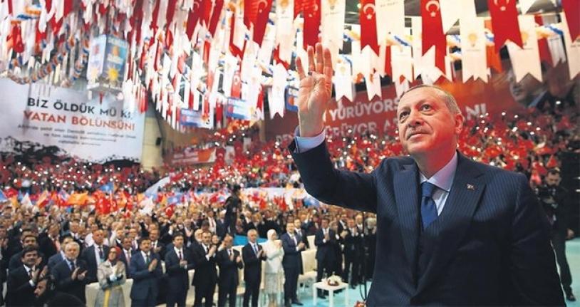 AK Parti kongresinde Erbakan Hoca'nın geleneği hayata geçti