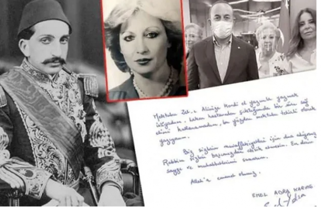 Bakanlık harekete geçti! Sultan Abdülhamid'in torunundan mektup
