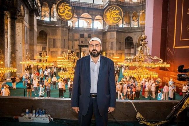 Bülent Turan'dan Ayasofya Camii Baş İmamı Mehmet Boynukalın'a tepki