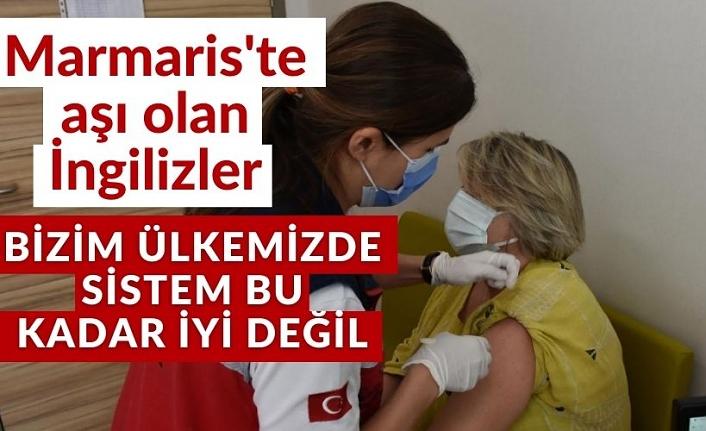 Marmaris'in yerleşik yabancıları 2'nci doz aşılarını yaptırdı