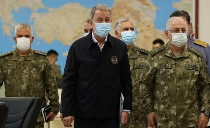 Bakan Akar, Pençe operasyonları ile ilgili son durumu açıkladı: 460 hedef vuruldu