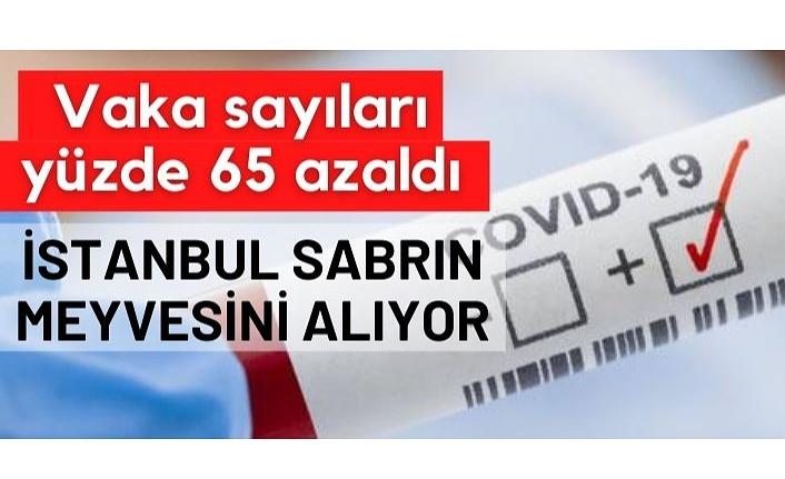 Fahrettin Koca: İstanbul'da vaka sayısı yüzde 65 azaldı