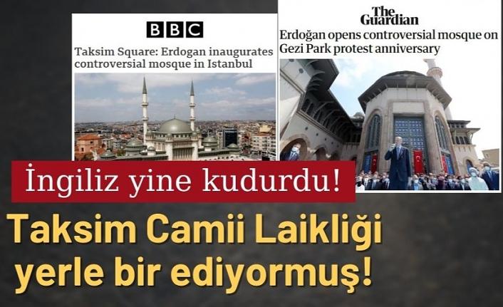 İngiliz basını, Taksim Camii'nden rahatsız oldu
