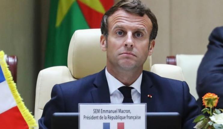 Macron'dan anlamsız 'Türkiye' hamlesi!