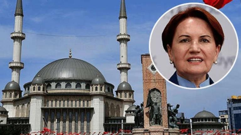 Meral Akşener'in Taksim Camii tweeti olay oldu