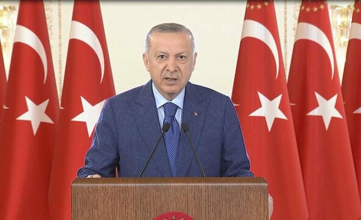 Cumhurbaşkanı Erdoğan'dan NATO'ya mesaj: Müttefiklerimiz terör örgütü elebaşılarını ağırladı