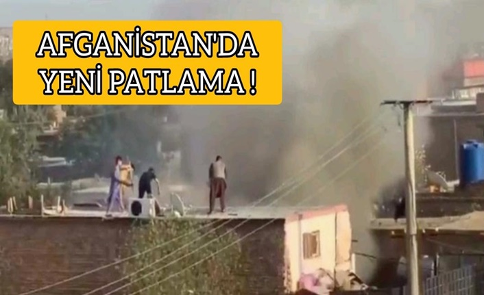 Kabil'de patlama meydana geldi !