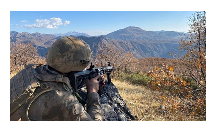 Şırnak'ta PKK'lı 4 terörist etkisiz hale getirildi